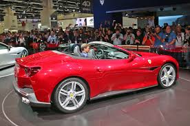 golden ferrari price 2018 ferrari portofino looks sharp in frankfurt automobile magazine