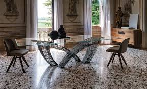 il decor furniture hystrix dining table cattelan italia