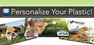 mazuma offers card personalization to members heartland credit