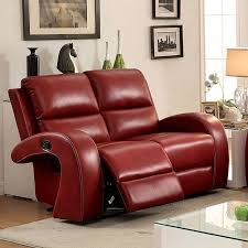 Modern Leather  Piece Living Room Set T Red Fiona Andersen - Red leather living room set