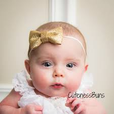 newborn hair bows aliexpress buy new girl glitter bow headband for hair