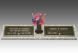 bronze grave markers veteran bronze grave marker for two ii this is the one i want for