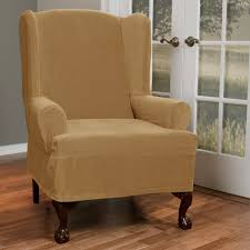 Wingback Sofa Slipcovers by Decor Wingback Chair Covers Chaise Lounge Covers Indoor