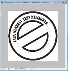 membuat garis 3d di photoshop cara mudah membuat teks melingkar dengan photoshop saling berbagi