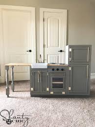diy kitchen cabinets kreg diy play kitchen shanty 2 chic