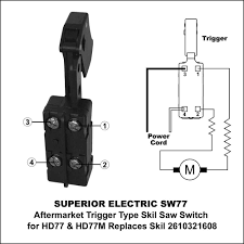 superior electric sw77 aftermarket 20 amp trigger on off switch