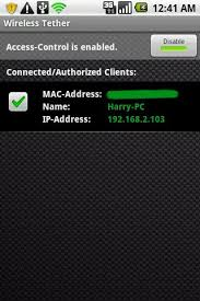 wifi tether for root users apk wireless tether for root users for android free and