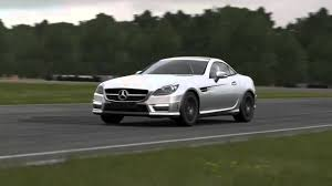 2012 mercedes benz slk55 amg top gear track youtube