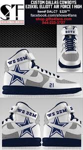 cowboys on thanksgiving dallas cowboys ezekiel elliott shoes dallas cowboys footwear
