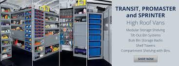 Cargo Van Shelves by Van Accessories And Equipment For Your Work Van Cargo Van