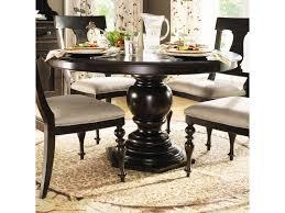 paula deen by universal home round pedestal table baer u0027s