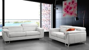 canapé 3 places cuir blanc canapé 3 2 places cuir blanc salon pas cher dedans canape cuir et