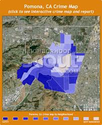 map of pomona california pomona ca crime rates and statistics neighborhoodscout
