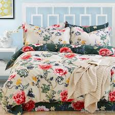 excellent 20 styles bed sheet luxury 3d print floral bedding sets