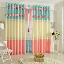 Bright Colored Curtains Multi Colored Curtains Photogiraffe Me