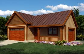 Garage Plans With Living Space Garage Plan 76020 At Familyhomeplans Com