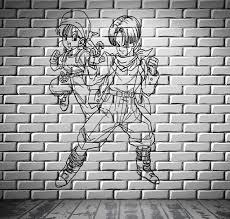 dragon ball z cartoon anime manga kids decor wall mural vinyl dragon ball z cartoon anime manga kids decor wall mural vinyl decal sticker m412