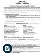 download network engineer resume examples computer network