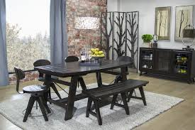 mor furniture for less the rustamod oval dining room mor