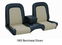 Black 67 Mustang Coupe 1967 Mustang Coupe Black Bench Seat Upholstery Set Mustangs Plus