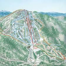 Ski Utah Map by Burke Mountain Trail Map Liftopia