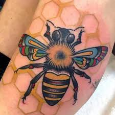 bee tattoo meaning