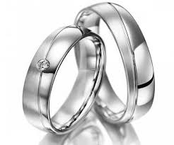alliance mariage or blanc alliances or blanc dans la boutique 1001 carats