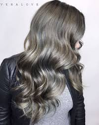 how to put highlights in gray hair 40 ideas of gray and silver highlights on brown hair