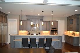 Gray Stained Cabinets With Black Glaze Richmond By Elite - Kitchen cabinets richmond