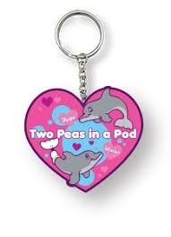 2 peas in a pod keychain winter two peas in a pod keychain clearwater marine aquarium