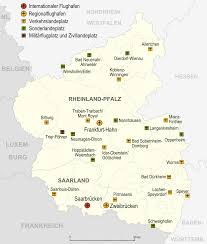 Koblenz Germany Map by Airports And Airfields In Rhineland Palatinate 2007 Full Size