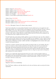 7 free recommendation letter template receipt templates