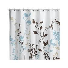 reflections floral fabric shower curtain polyvore