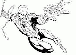 cartoon spider pics coloring