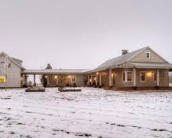 single story farm house exterior ideas houzz