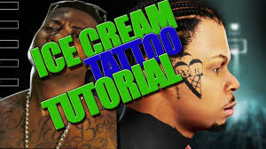 nba 2k16 gucci mane ice cream tattoo tutorial youtube