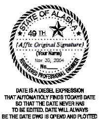 Architect Signature Seal Specifications Board Of Architects Engineers And Land