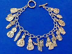 battle saints bracelets 56 religious catholic medals charm bracelet ooak catholic