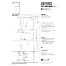 delta faucet 9178t ar dst leland arctic stainless pullout spray