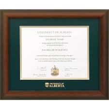 diploma framing u of a briarwood mahogany diploma frame alberta1215bm