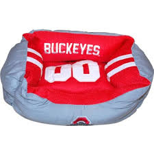 Ohio State Chair Ohio State Buckeyes Jersey Dog Bed Small Everything Buckeyes