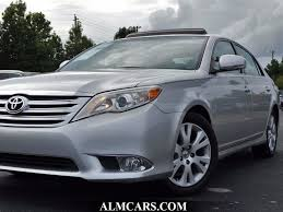 2012 used toyota avalon 4dr sedan limited at alm newnan ga iid
