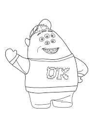 sulley coloring page top 84 monsters inc new coloring pages free coloring page
