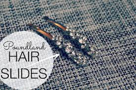 hair slides poundland hair slides a thrifty mrs