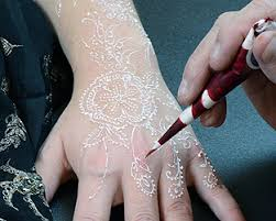 henna tattoo recipe paste the henna page white henna what it is and how to use it from the