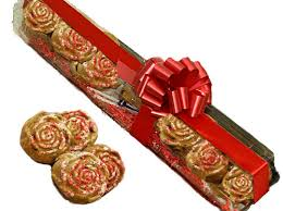 Long Stem Rose Long Stem Rose Shaped Cookies Snookies Cookies