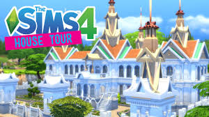 the sims 4 thailand royal palace house tour youtube