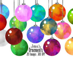 ornaments clipart etsy