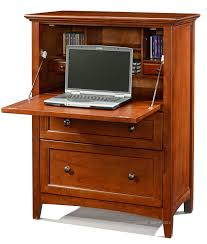 Cherry Computer Armoire Alder Wood Office Chest Armoire Glazed Antique Cherry