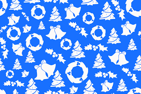 Blue Christmas Decorations Png by Christmas Background Seamless Blue Holiday Christmas